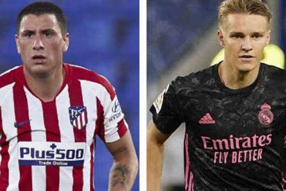 El Real Madrid desmiente que Odegaard padezca COVID-19 y Giménez (Atlético) confirma su positivo