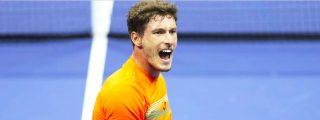 El español Pablo Carreño logra un triunfo memorable sobre el feroz Shapovalov y se mete en semifinales del US Open