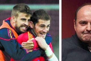 """Piqué sopapea a Juanma Rodríguez (El Chiringuito) en Twitter y lo bautiza como """"Gargamel"""""""