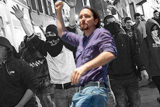 """Pablo Iglesias manda a su """"guerrilla"""" a agitar las calles contra el Rey Felipe y los jueces que investigan a Podemos"""