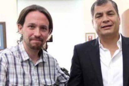 Rafael Correa, el camarada de Pablo Iglesias, sentenciado a 8 años de cárcel e inhabilitado de por vida