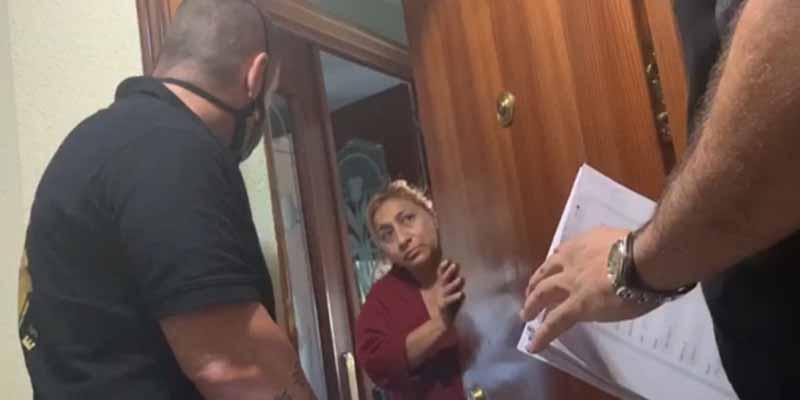 La asistenta-okupa explica en TV por qué mandó a incinerar el cuerpo de la propietaria del piso