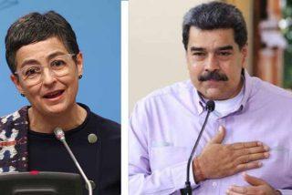 """La ministra de Exteriores de Sánchez 'masajea' a Maduro tras conocer el informe de la ONU: """"Es preocupante"""""""
