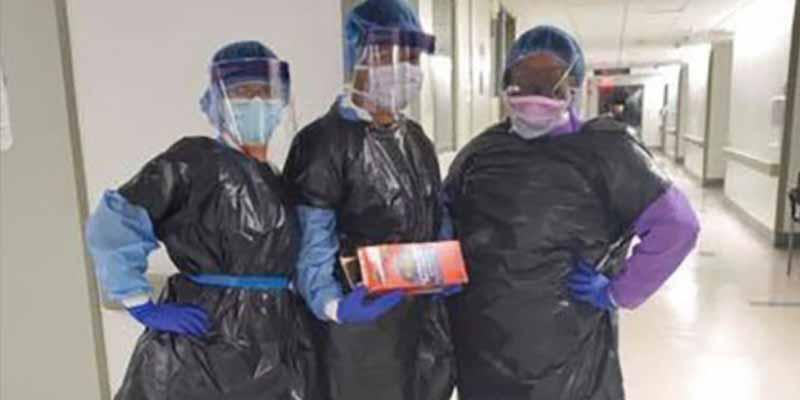 El coronavirus golpea con fuerza en América: es el continente con mas sanitarios contagiados del mundo