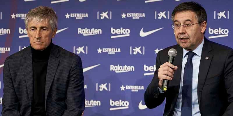 La ruina del Barça de Bartomeu denunciado por no pagar el finiquito a Setién