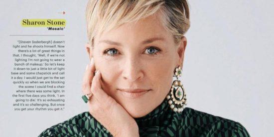 Sharon Stone se rebela contra los cánones de la mujer en el cine