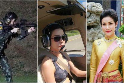 """El rey de Tailandia readmite a una concubina real a su harén de 20 mujeres tras meterla en prisión por """"ambiciosa"""""""