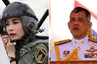 El vicioso rey de Tailandia perdona a Sineenat Wongvajirapakdi, la concubina que encarceló por 'ambiciosa'