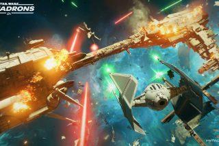 'Star Wars: Squadrons' lanza un impresionante tráiler y muestra los peligros de pilotar un TIE Fighter