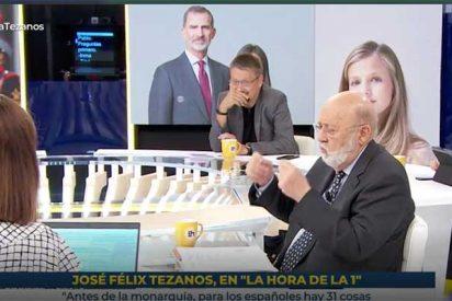Tezanos, en el alambre: la actitud hostil de TVE con él le obligará a incluir a la Monarquía en el próximo CIS si quiere conservar su puesto