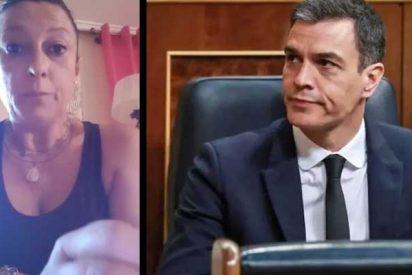 """La madre de una niña asesinada por ETA saca los colores a Sánchez por su pésame al terrorista que se suicidó: """"Ha vuelto a matar a mi hija"""""""