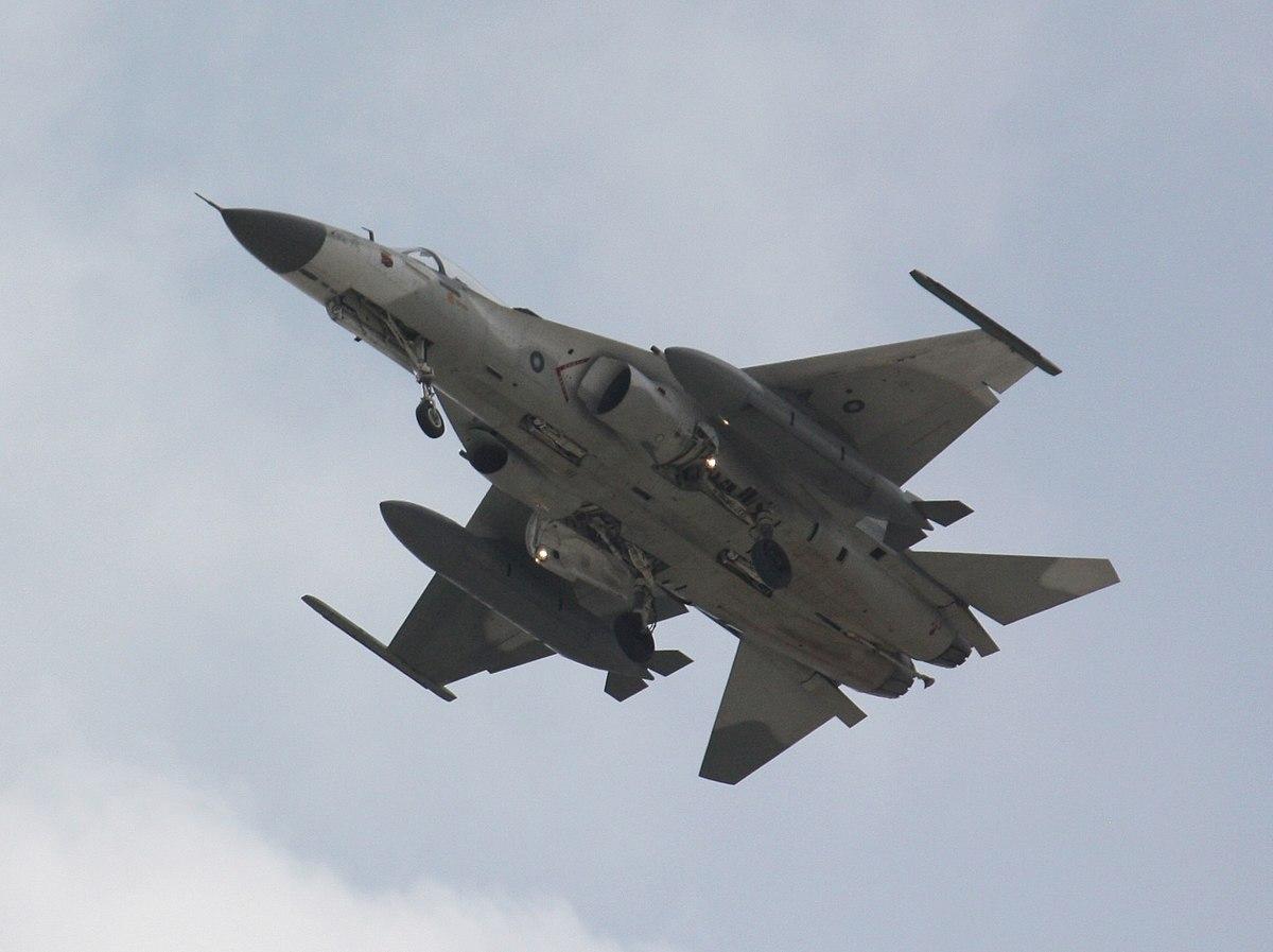 Taiwán expulsa con aviones de guerra a los cazas chinos que violaron su espacio aéreo