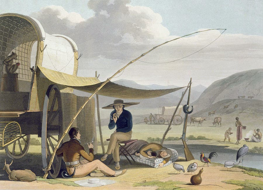 Freeburghers, trekboers y el primer afrikáner