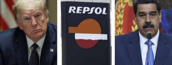 Las nuevas sanciones de EEUU contra la dictadura chavista apuntan a Repsol