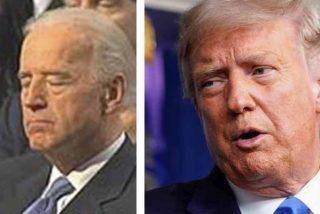 """Donald Trump anunció que exigirá una prueba antidopaje a Joe """"El dormilón"""" Biden antes del debate"""