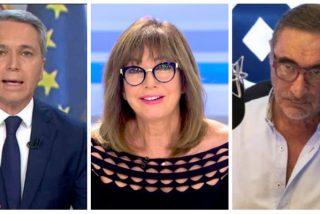 El siniestro plan de Podemos para 'matar' a Vicente Vallés, Ana Rosa Quintana y Carlos Herrera