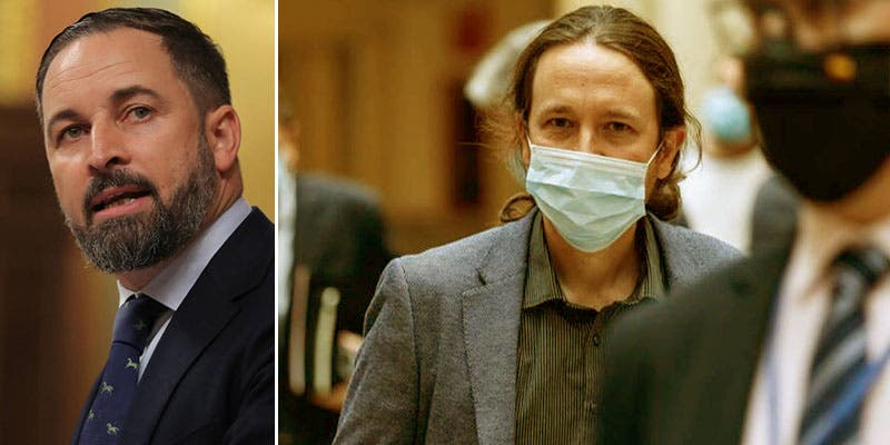 "La foto de la vergüenza del Gobierno que desata la ira de Abascal (Vox): ""¡Mafia!"""