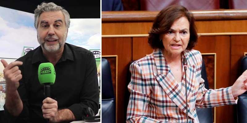 """El monumental repaso de Alsina a Carmen Calvo: """"Que le explique a Bildu..."""""""