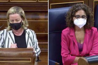 """La embestida de Ana Oramas que hizo bajar la mirada a María Jesús Montero: """"¡Es una chantajista y soberbia!"""""""