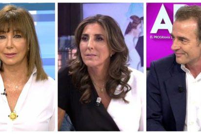 La sorprendente reacción de Ana Rosa Quintana y Alessandro Lequio tras el 'Deluxe' de Paz Padilla