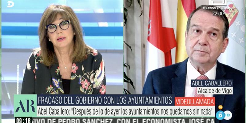 """Ana Rosa cortocircuita a Abel Caballero: """"¡No pueden estar todos equivocados y usted tener la razón!"""""""