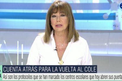 """El fastuoso regreso de Ana Rosa Quintana apuntando a Sánchez e Iglesias: """"¡No hay Gobierno al volante!"""""""