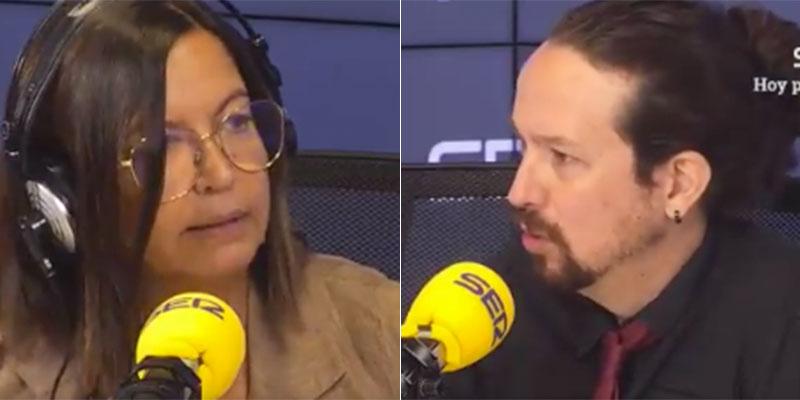"""Pablo Iglesias raja de Sánchez en la SER: """"Tuvimos una discusión fuerte por la salida del rey emérito y el Presidente se disculpó"""""""