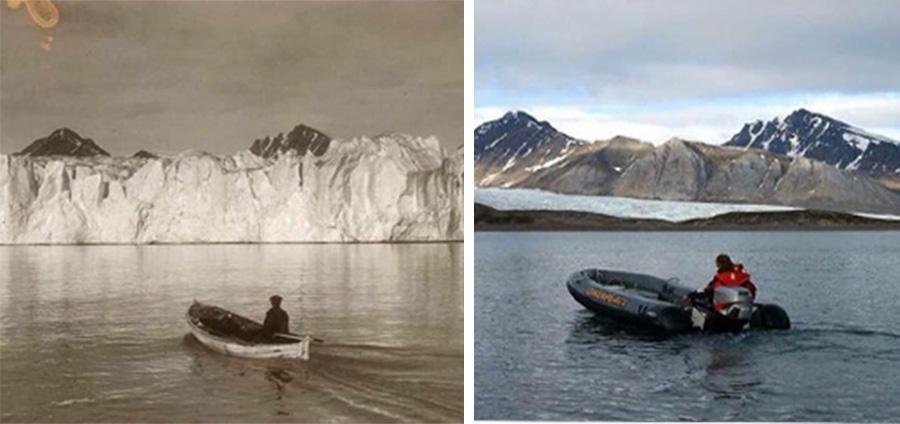 Estas fotografías revelan el dramático 'antes y después' de algunas partes del mundo