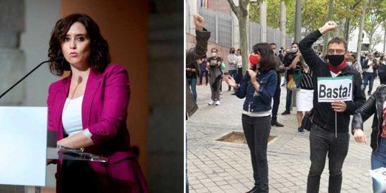 La izquierda madrileña entra en razón y desconvoca la manifestación anti-Ayuso por temor al coronavirus