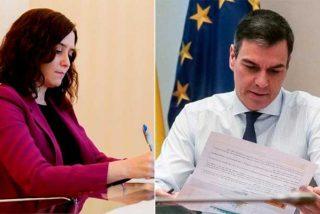"""Pedro Sánchez habla de """"tú"""" a Díaz Ayuso en su carta pero utilizó el """"usted"""" cuando escribió a Torra"""