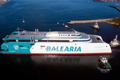 Baleària: Eleanor Roosevelt, el catamarán de más grandes dimensiones del mundo