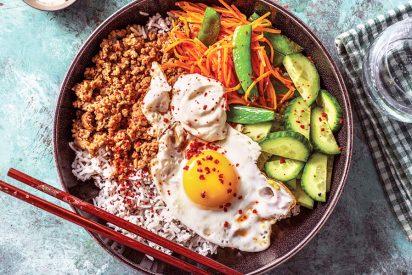 Bibimbap: La exótica y saludable receta coreana