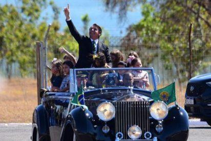 Brasil celebra el Día de la Independencia con actos militares y 500 'fans' de Jair Bolsonaro