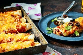 Burritos de carne y queso gratinado: Receta mexicana para el Día de Todos los Santos
