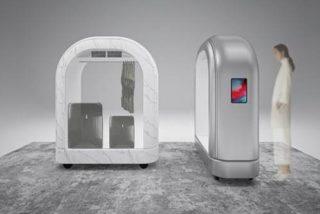 Así son las innovadoras cabinas de desinfección para facilitar el check-in seguro en hoteles