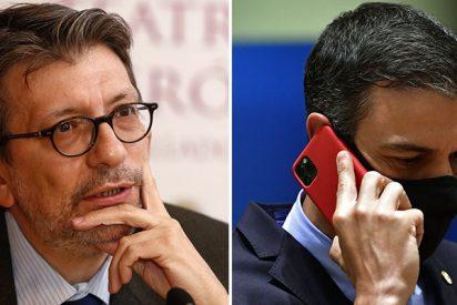 """Camacho rescata la hemeroteca de """"mentiras y trampas"""" de Sánchez durante el primer estado de alarma"""