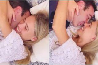 El primer vídeo apasionado en la cama de Enrique Ponce y su novia Ana Soria