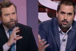 """Salvaje rapapolvo de Espinosa de los Monteros a Carlos Cué: """"¿Está usted negando que han condenado a El País por mentir sobre VOX?"""""""