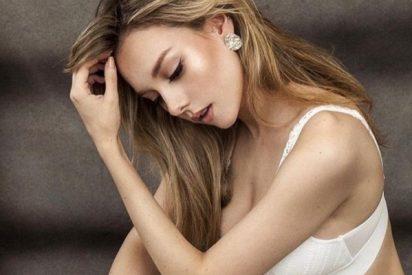 """""""Eres una diosa"""": Ester Expósito se viste de novia 'hot' y deslumbra en el Festival de Venecia"""