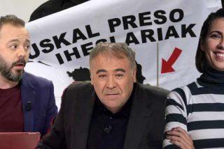 Maestre suelta un 'mega bulo' en laSexta acusando al PP de Aznar de mimar a ETA: Ferreras asientey Newtral se hace la sueca