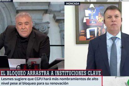 """Ferreras acusa a Casado de """"prácticas inconstitucionales"""" tras la 'señal' de Sánchez en TVE"""