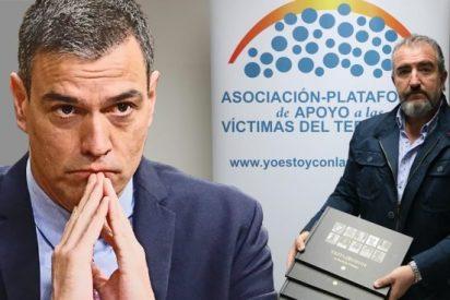 """Las víctimas de ETA humilladas por Pedro Sánchez: """"No olvide quiénes son los buenos y quiénes son los malos"""""""