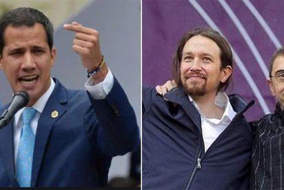 """Juan Guaidó: """"El respaldo de Podemos a Maduro es sospechoso, hay que investigar y que la justicia tome cartas"""""""