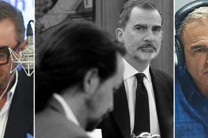 Herrera mete un 'leñazo' colosal a Carmelo Encinas por cargar contra Casado por salir en defensa del Rey