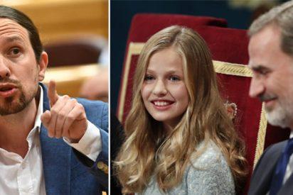 La prensa internacional, que tilda de incompetente a Sánchez e Iglesias, se rinde ante la Princesa Leonor