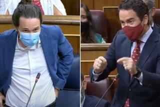 García Egea (PP) trolea tanto a Iglesias que el vicepresidente intenta ofenderle por su acento murciano