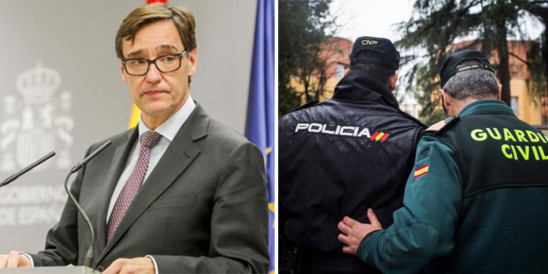 """Illa humilla a policías y guardias civiles: les excluye del """"personal esencial"""" contra el COVID-19"""