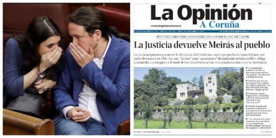 El Quilombo / Borrachera mediática con la expropiación del pazo de Meirás: ¡Que se lo queden los marqueses comunistas como residencia de verano!