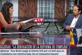 Las redes 'cazan' a Iglesias soltando una trola sobre el IVA de las mascarillas que le deja como un vulgar 'Pinocho'