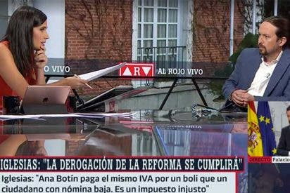 Las redes 'cazan' a Iglesias soltando una trola sobre el IVA de las mascarillas que le deja como un 'Pinocho'